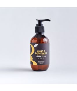 Green Olive at Red Hill Hand and Body Wash - Lemon Verbena 200ml