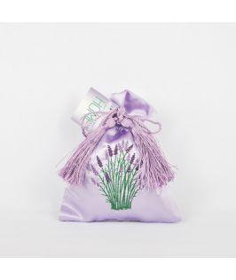 Bridestowe Satin Lavender Bag (Purple)