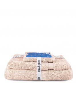 Canningvale Royal Splendour 3 Piece Towel Set - Angora Wheat