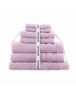 Canningvale Australia Amalfitana 7 Piece Towel Set Valentina Pink