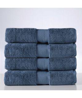 Aria Bath Towel - Luna Blue