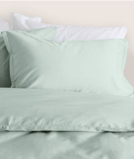 Canningvale Australia Bamboo Cotton Quilt Cover Set King Bed Gelato Mint