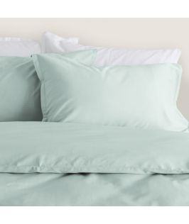 Canningvale Australia Bamboo Cotton Quilt Cover Set Queen Bed Gelato Mint