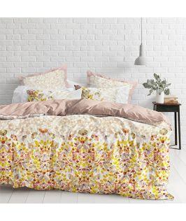 Modella Designer Queen Quilt Cover Set - Butterflies