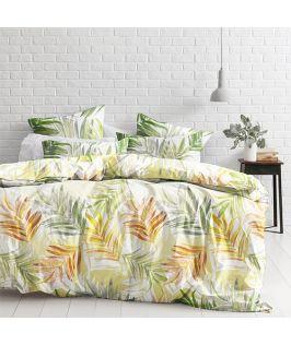 Modella Designer King Quilt Cover Set - Fern Gully