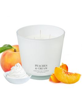 Canningvale Australia Peaches & Cream Scented Soy Wax Candle