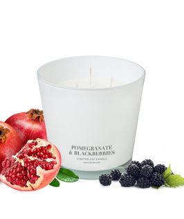Canningvale Australia Pomegranate & Blackberry Scented Soy Wax Candle