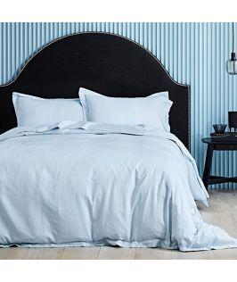 Canningvale Australia Classico Hotel Single Quilt Cover Set Powder Blue