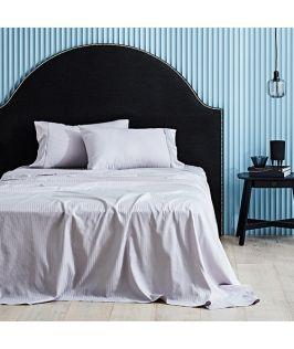 Canningvale Australia Classico Hotel Single Sheet Set Dolphin Grey