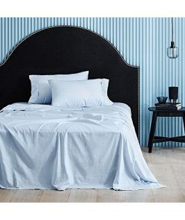 Canningvale Australia Classico Hotel Single Sheet Set Powder Blue