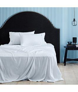 Canningvale Australia Classico Hotel Single Sheet Set White
