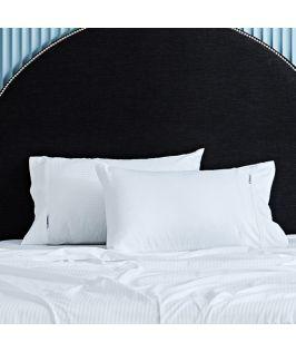 Canningvale Australia Classico Hotel Pillowcase Twin Pack - 10cm Cuff White