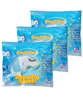 Simply Easy Laundry Sheet (3 Packs)