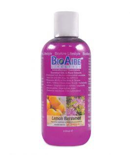 BioAire Lifestyle Aromatherapy Concentrate Essential Oils & Plant Extracts – Lemon Bergamot