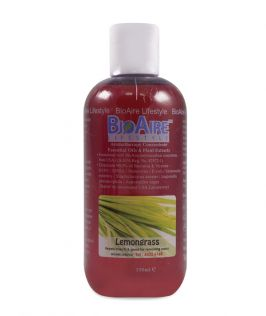 BioAire Lifestyle Aromatherapy Concentrate Essential Oils & Plant Extracts – Lemongrass