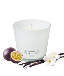 Canningvale Australia Passionfruit & Vanilla Bean Scented Soy Wax Candle