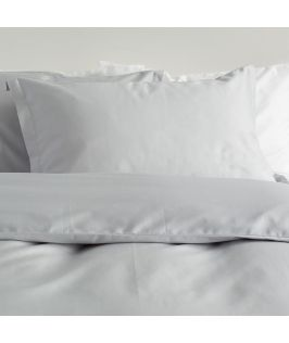 Canningvale Australia Palazzo Royale 1000TC Quilt Cover Set King Silver Silk