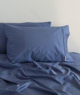 Canningvale Australia Palazzo Royale 1000TC Single Sheet Set Bombay Blue