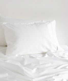 Canningvale Australia Palazzo Royale 1000TC Single Sheet Set Crisp White