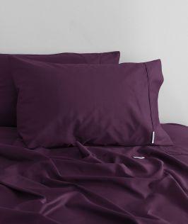 Canningvale Australia Palazzo Royale 1000TC King Sheet Set Royale Purple
