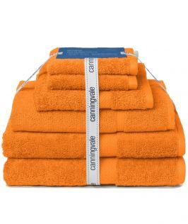 Canningvale Australia Royal Splendour 6 Piece Towel Set - Ambra Orange