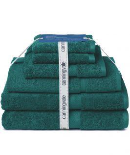 Canningvale Australia Royal Splendour 6 Piece Towel Set Azzurrite Teal
