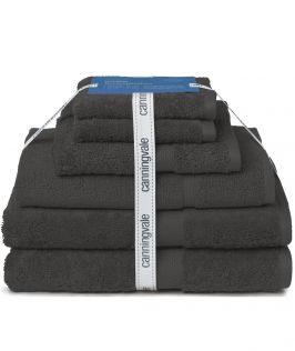Canningvale Australia Royal Splendour 6 Piece Towel Set - Black