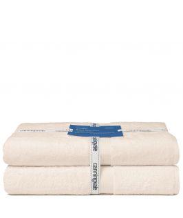 Canningvale Bath Towel Twin Pack (Angora Wheat)