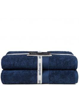 Canningvale Bath Towel Twin Pack (Mezzanotte Blue)