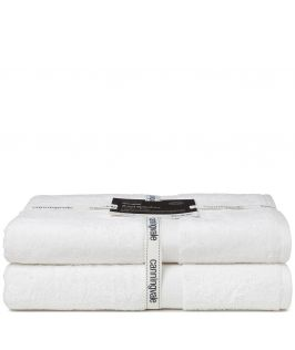 Canningvale Bath Towel Twin Pack (White)