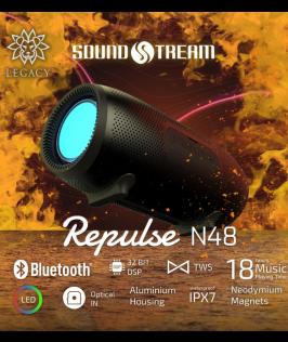 Repulse N48 by Soundstream (Nero Black)