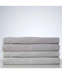 Sofi Organic Boucle Bath Sheet - Perla Silver